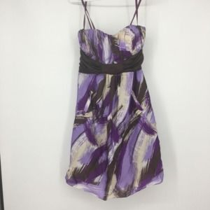 Max And Cleo Purple Party Dress